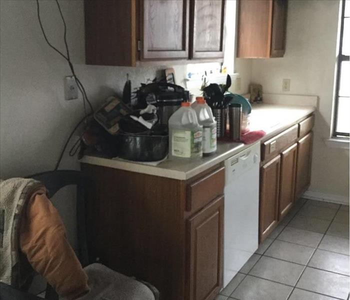 Kitchen Fire Cleanup After