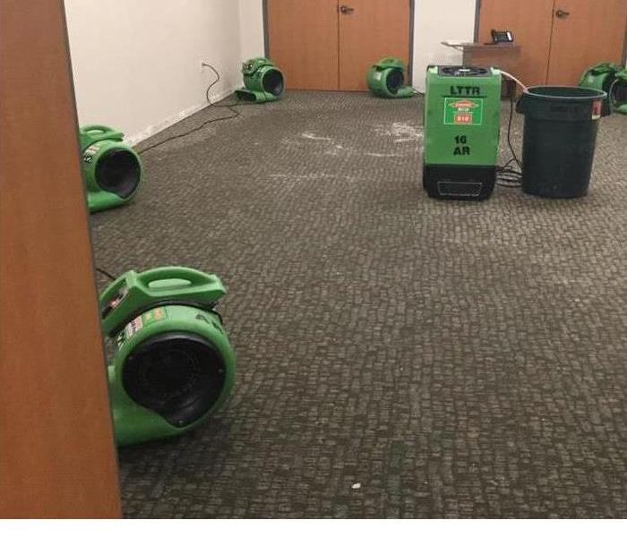 Commercial Act Fast Post-Flood To Prevent Excessive Mold Damage