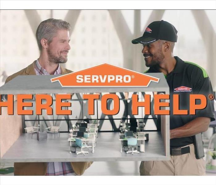 SERVPRO® Here To Help